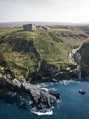 Drone-Pilot-Heaven (Fabian Fortmann) Tags: tintagle castle coast waterfall drone dji mavic cornwall england vacation travel sea