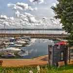 Prescott Ontario - Canada -  Sandra S Lawn Harbour - Reflection thumbnail