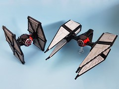 First Order Elite TIE Interceptor (kozikyo86) Tags: lego star wars first order elite tie interceptor fighter moc mod design designer last jedi force awakens