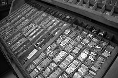 HOU Printing Room 2018-07-30 DSC_5029bw (bix02138) Tags: houghtonlibrary houghtonlibraryharvarduniversity houghtonlibraryprintingroomharvarduniversity houghtonlibraryprintingroom printingroom harvarduniversity harvardyardcambridgema lamontlibraryharvarduniversity printingpressesprinting type movabletype 2018 july30 cambridgema ©2018lewisbrianday