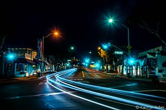 The Streets Of Laguna - Night Lights_6001 (www.karltonhuberphotography.com) Tags: 2018 cartrails citystreets hwy1 headlights horizontalimage karltonhuber laguna lagunabeach light motion nightlights nightphotography pch pacificcoasthighway signs southcounty southerncalifornia storefronts streetlights streetphotography streetscene taillights trafficlights