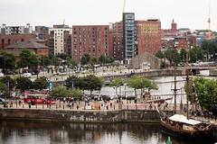 River Mersey And Albert Docks and Mann Island Liverpool Merseyside. (@oakhamuk) Tags: rivermersey albertdocks mannisland liverpool merseyside