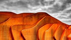 L'hampton (Joseph Pearson Images) Tags: architecture eastbeachcafe thomasheatherwick littlehampton rust hdr building abstract