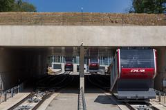Luxembourg (Jan Dreesen) Tags: openbaar vervoer transport public transit luxembourg lëtzebuerg luxemburg stadt stad ville kirchberg kiergbierg cfl funiculaire funicular kabelbaan pfaffenthalkirchberg gare station railway