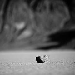 Sit Here and Think (Thomas Hawk) Tags: california dv2011 deathvalley deathvalleynationalpark google googledeathvalleyphotowalk2011 racetrack racetrackplaya usa unitedstates unitedstatesofamerica bw desert fav10