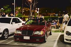 彰化高鐵站 M-BENZ CE Cabriolet A124 (briandodotseng59) Tags: asia taiwan japan car auto nikkor nikon color coth5 street sun day light night shadow black white green classic old w124 a124 convertible