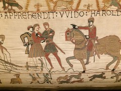 Bayeux Tapestry: 7 (DrBob317) Tags: france normandy bayeux bayeuxtapestry