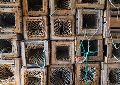 Crab pots from times past (harald.bohn) Tags: krabbeteiner fiskeri fangstutstyr teiner crab pots