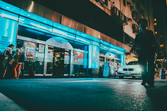 (Kevin .H) Tags: 台灣 台北 街拍 街頭 夜晚 taiwan taipei street streetphotography stranger light neon people city sony alpha sigma 16mm f14