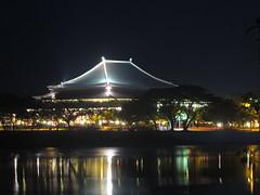 UTAR's Grand Hall Lighted Up