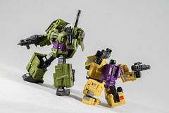 DSC07664 (KayOne73) Tags: iron factory legends scale transformers transformer robot toy figures 3rd party sony a7rii nikkor nikon 40mm combaticons bruticus combiner class war giant micro macro lens dx