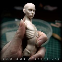 The_Boy_KCDoll_WIP_002 (kularien) Tags: kcdoll kulariencustomdoll bjd balljointeddoll tinybjd wip sculpting sculpture boy ooak artistdoll artistbjd