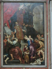 20170525 Italie Gênes - L'Eglise de Jésus - Rubens -(1577-1640)- Le miracle de Saint Ignace (anhndee) Tags: italie italy italia gênes genova church église eglise peintre peinture painting painter