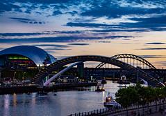 Newcastle upon Tyne - Rare Bridge Event (Dan Tuff) Tags: newcastle upon tyne rare bridge event landscape millennium swin north england uk river toon ne1 nufc