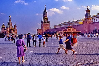 Moscow 1986: Crossing Red Square
