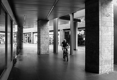 Tour de Liverpool One (Ian Livesey) Tags: liverpoolone liverpool bw cycling rebelwithoutamotor england merseyshire
