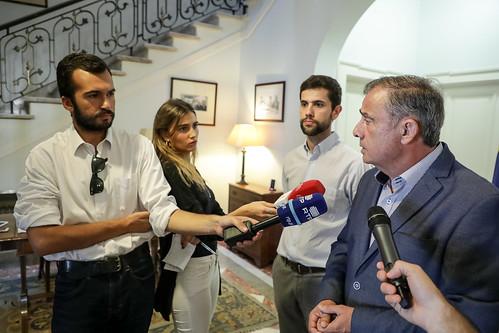 José Silvano em conferência de imprensa