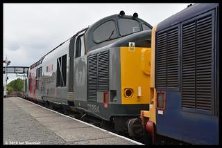 37884 Cepheus No 37703 15th July 2018 Bo'ness & Kinneil Railway