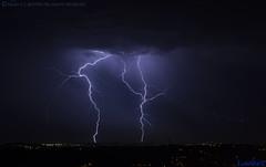 2018.06.20 - 231542 (NIKON D7200) [Carvalha] (Nuno F. C. Batista) Tags: clouds nuvens portugal lusoskies lightning relâmpago thunderstorm trovoada storm night sky nikon severeweather storms photography margemsul skies portuguese meteorology cumulunimbus d7200 arrudadosvinhos carvalha