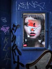 'Blind Advertising' (Milesofgadgets ) Tags: soho iphone8plus iphone petermiles graffiti streetart