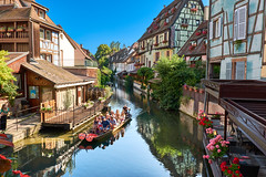 Boat ride in the canals of Colmar (Naval S) Tags: colmar france alsace hautrhin canals sb30402