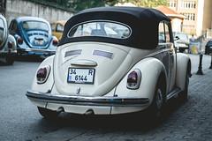 Beetle (WeekendPlayer) Tags: beetle vw volkswagen kafer fusca classic classiccar driver drive vehicle park steering wheel rim street