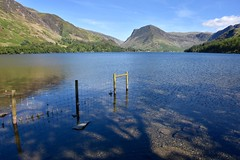 HFF from Buttermere (Nige H (Thanks for 12m views)) Tags: lakedistrict buttermere cumbria nature landscape lake butteremere happyfencefriday hff england water