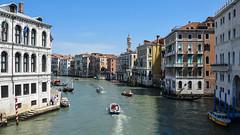 Canal Grande from Rialto I (cokbilmis-foto) Tags: nikon d3300 nikkor 18105mm canal grande venezia venice rialto bridge