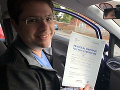 Massive congratulations  to Raphael Brandão passing his driving test on his first attempt.  www.leosdrivingschool.com