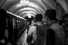 Child (_storysofar_) Tags: streetphotography subway kid train station child lights people platform underground portrait moscow russia fujifilm