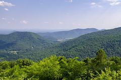 View From Blue Ridge Parkway (rschnaible (On Holiday)) Tags: blue ridge mountains landscape geology the south virginia outdoors forest woods shenandoah national park