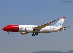 LN-LNB Boeing 787 Norwegian (@Eurospot) Tags: lnlnb boeing 787 norwegian bcn lebl barcelone 787800