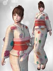 Ambrosia 2018YUKATA @KURENAI (ღ:Yuzღ:) Tags: secondlife fashion kurenai ambrosia kimono barberyumyum 6doo maitreya virtual world