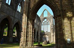 Tintern Abbey (Eddie Crutchley) Tags: europe uk wales tintern historicbuilding tinternabbey ruins church sunlight simplysuperb beauty building greatphotographers wonderful