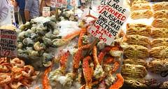 Seattle (mademoisellelapiquante) Tags: pacificnorthwest seattle washington pikeplacemarket seattlepublicmarket fish seafood