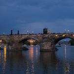 Prague: Charles Bridge at Night thumbnail