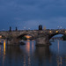 Prague: Charles Bridge at Night
