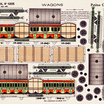 Petites Constructions Wagons by Imagerie Pellerin. Original from Library of Congress. Digitally enhanced by rawpixel. thumbnail