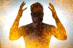 Face Slip.  226/365. (FadeToBlackLP) Tags: lightpainting longexposure lensswap silhouettes portrait lightpaintedselfportrait dark face ryuslightworks v2 lightpaintingbrushes sonya7ii yongnuo 560iv pentax28mm minolta50mmf17