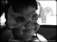idris with mask (Nor Salman) Tags: car em5 idris mask olympuszuiko35mmf20
