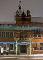 Snow in the City of London (Joe Dunckley) Tags: beastfromtheeast britain british cityoflondon england english greatbritain london squaremile uk unitedkingdom badweather city night snow winter