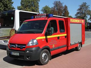 Opel fire truck