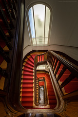 Staircase No. 10 (Sascha Gebhardt Photography) Tags: nikon nikkor d850 1424mm lightroom photoshop reise roadtrip reisen germany deutschland travel tour treppenhaus treppe staircase stairs steps fototour fx cc