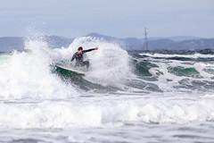 19.08.18 (Jostein Nilsen Photography) Tags: saltsteinnevlungstrandasurf møgster andreas andreasmøgster sea ocean water sky wave surf surfing surfer
