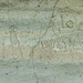 Petroglyphs on face of Petroglyph Pt at Lava Beds NM pano1-01 5-27-18-Pano