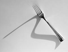 Fork (SammCox) Tags: fork shadow