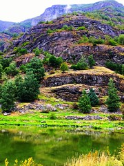 Flam, Norway (traceplaces) Tags: norway fjord flam scenary mountain green traceplaces norwegian scandinavia northerneurope europe nature