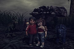 The End is Near. (Zaidood -Lil & Big Blogger-) Tags: nature dinosaurs camp richmond survival friends