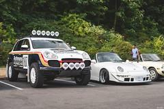 RWB Porsche 993 Cabriolet + Flatsix Classics Cayenne & RWB Porsche 993 Cabriolet (Dylan King Photography) Tags: carsandcoffee coffeeandcars vancouver vancity bc canada