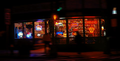 Nighthawks (Miradortigre) Tags: city night nighthawks noche ciudad luces lights commercial neon boston